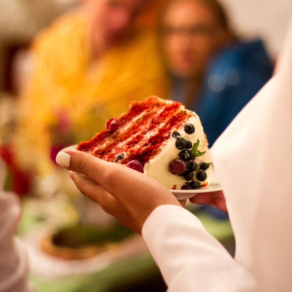 meniul de nunta - tortul