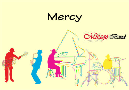 mercy by formatie nunta Mirage Band